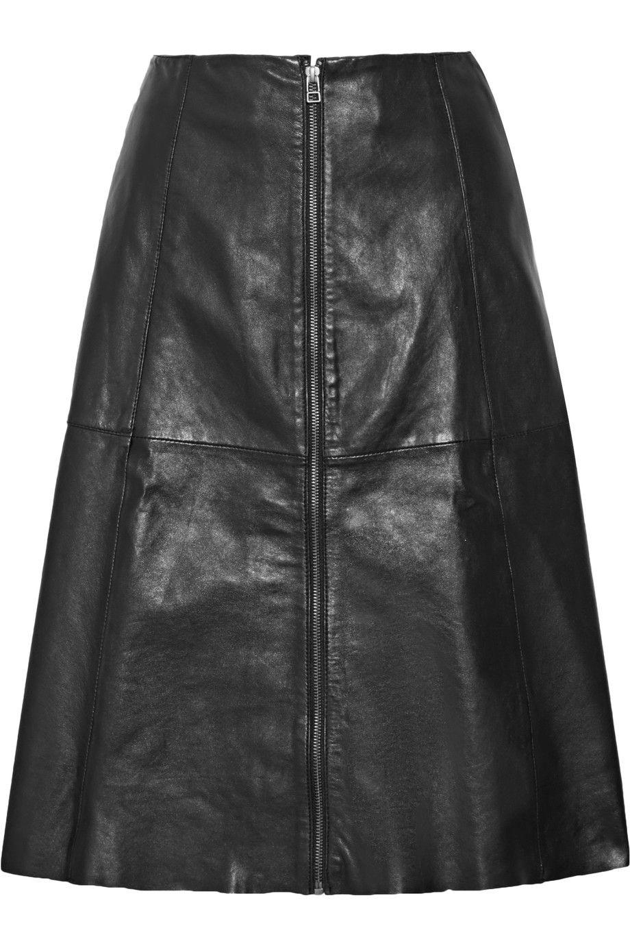 ede44d1d4 MUUBAA . #muubaa #cloth #skirt   Muubaa   Leather skirt, Black ...