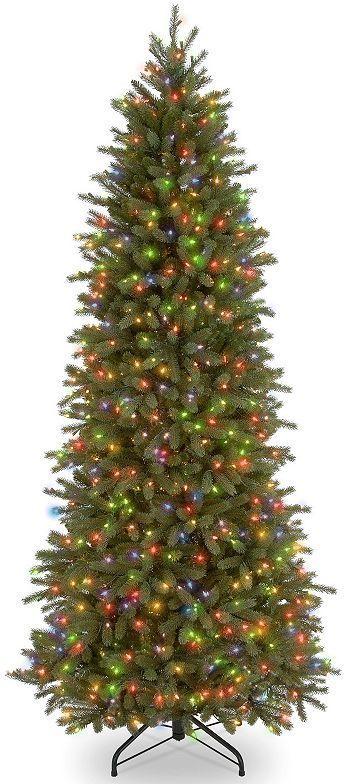 7.5-ft. Pre-Lit ''Feel-Real'' Jersey Frasier Artificial Christmas ...