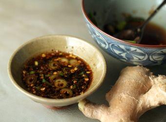 asian ginger dipping sauce for dumplings