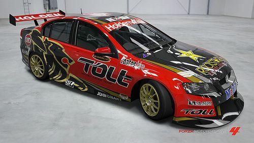 Toll Holden Racing Team 2012 Racing Team Super Cars Holden