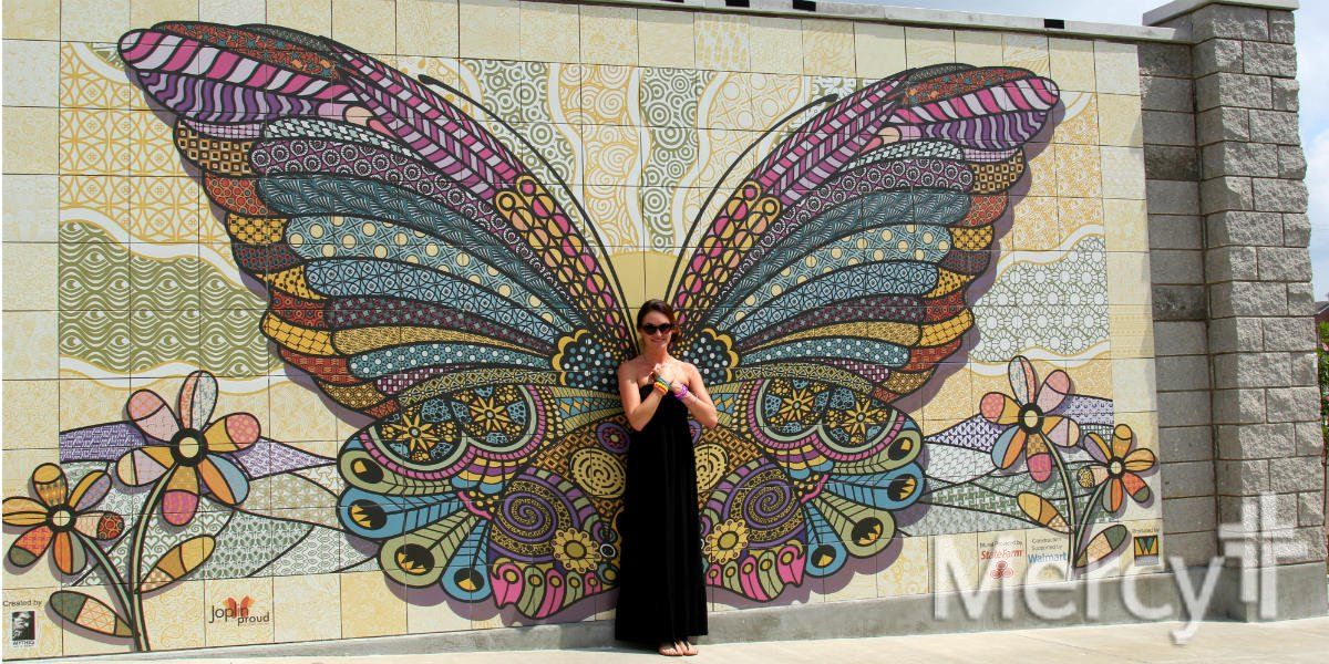 Image result for butterfly wings mural | mural | Butterfly ...
