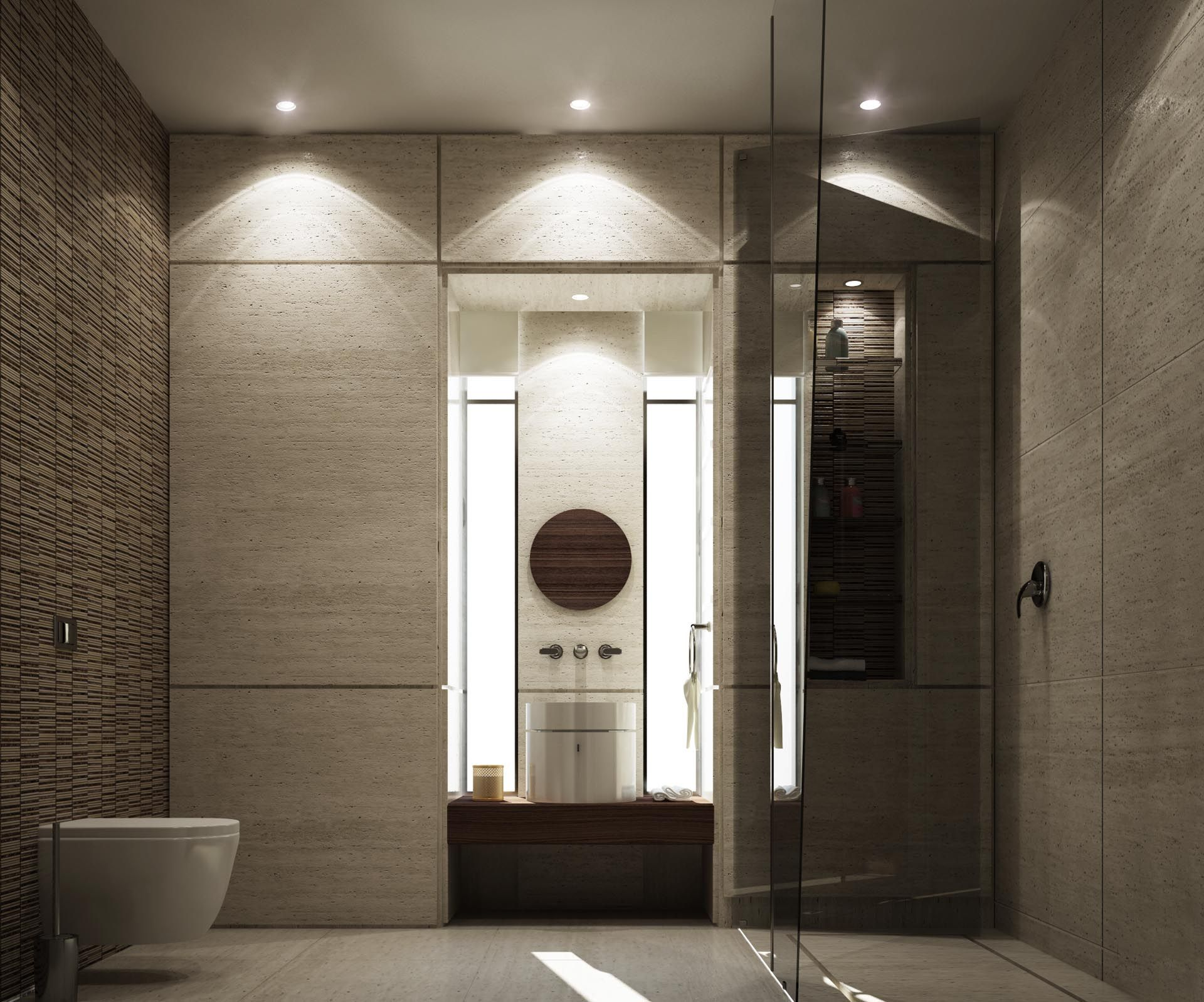 Badezimmer dekor hinter wc mimar interiors  bathroom  pinterest  zeitgenössische badezimmer