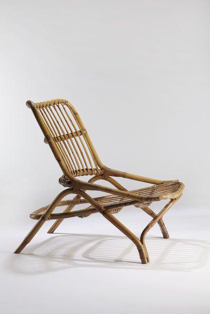 Luhhhhhv Andre Motte Rattan Sabre Chair 1954 Chaise Rotin Mobilier De Salon Fauteuil Rotin