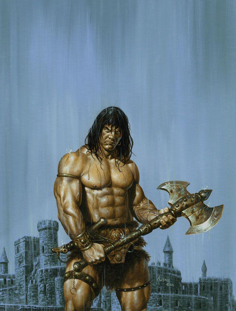 Conan By Jusko Conan The Barbarian Comic Conan The Barbarian Barbarian