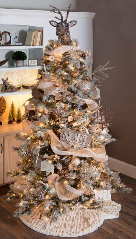 Choosing Your Christmas Tree Theme My Kirklands Blog Elegant Christmas Trees Christmas Tree Themes Christmas Tree Design