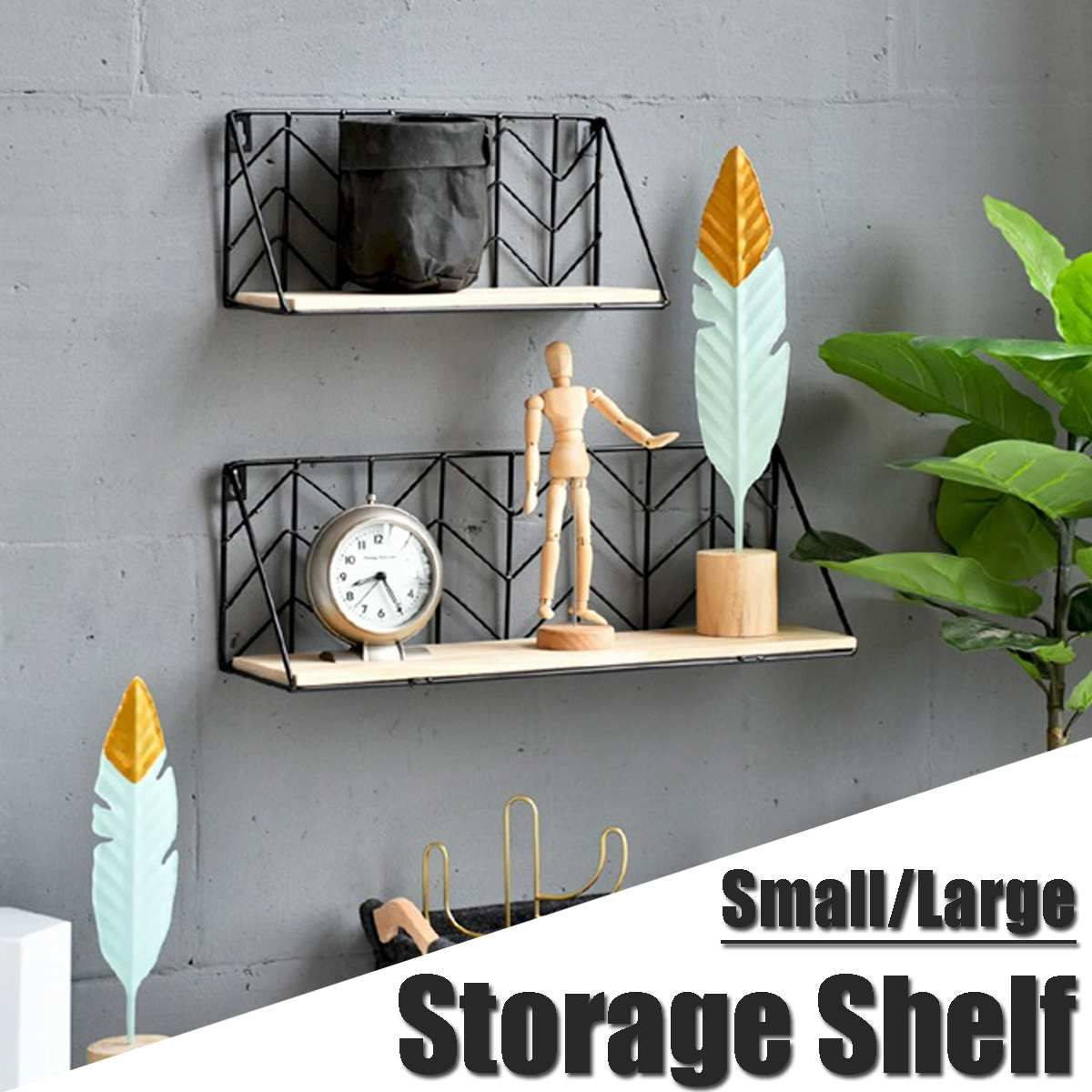 Nordic Style Shelves Wall Decoration Storage Shelf Wall Mounted Hanging Iron Flower Holder St V 2020 G Nastennye Polki Ukrashenie Sten Svoimi Rukami Idei Dlya Ukrasheniya