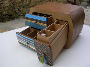 Les Meubles En Carton De Maud Rangement Carton Mobilier En Carton Papier Carton
