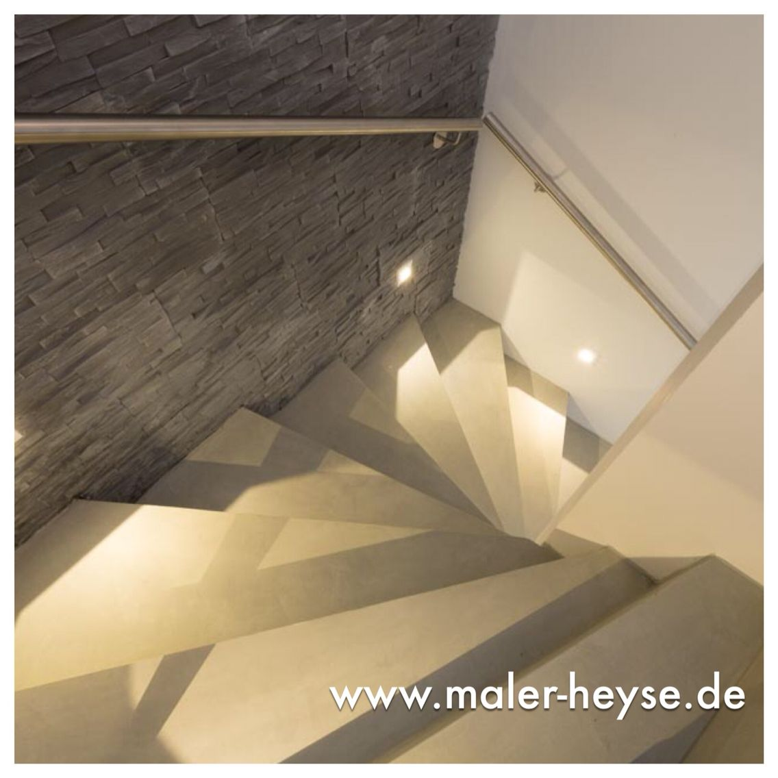 pin von meinmaler das partnernetzwerk auf betonoptik pinterest treppe betonoptik und haus. Black Bedroom Furniture Sets. Home Design Ideas