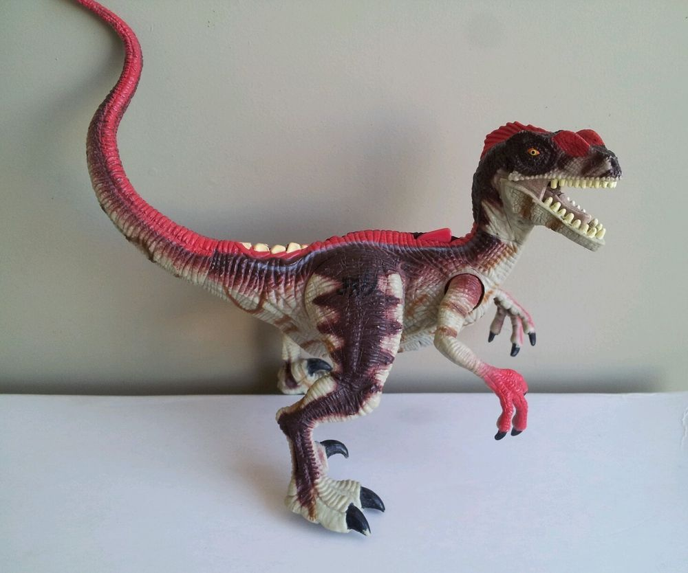 Jurassic Park III Re-Ak-Atak Electronic Alpha Velociraptor raptor ...