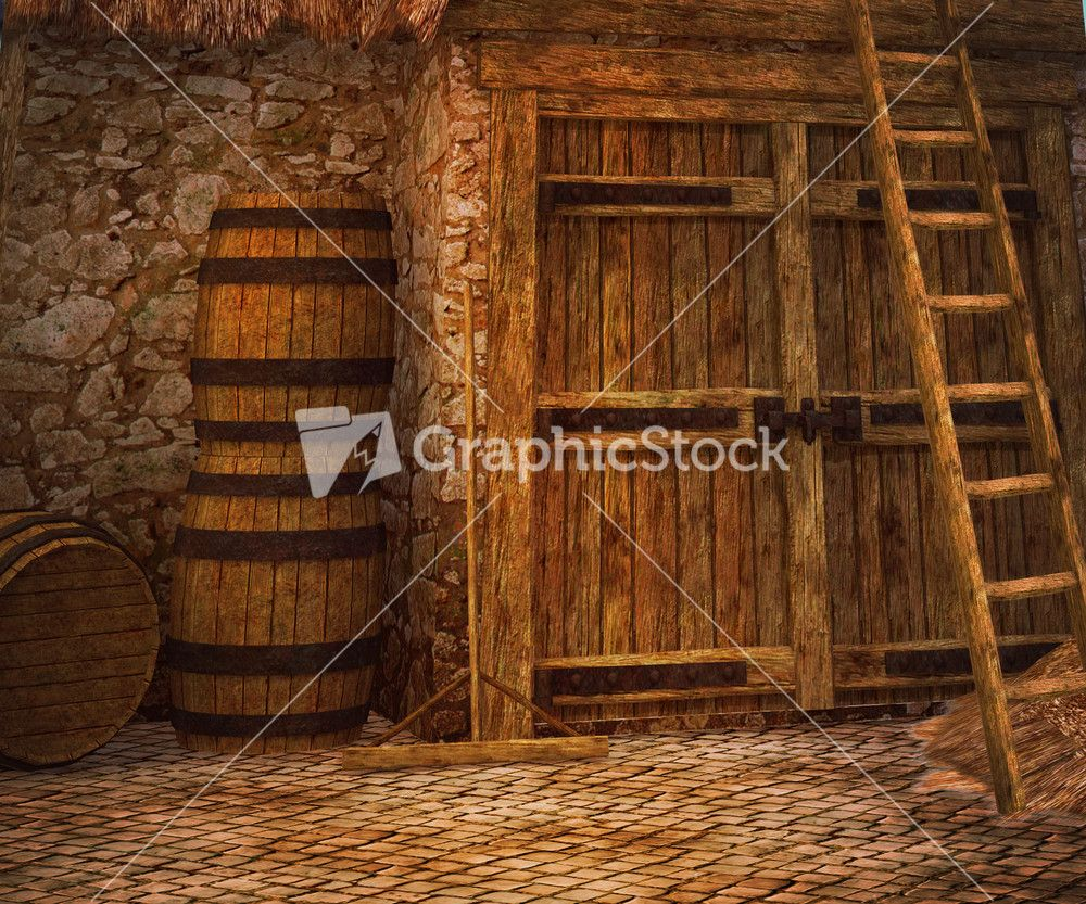 Medieval Photographic Background Stock Image