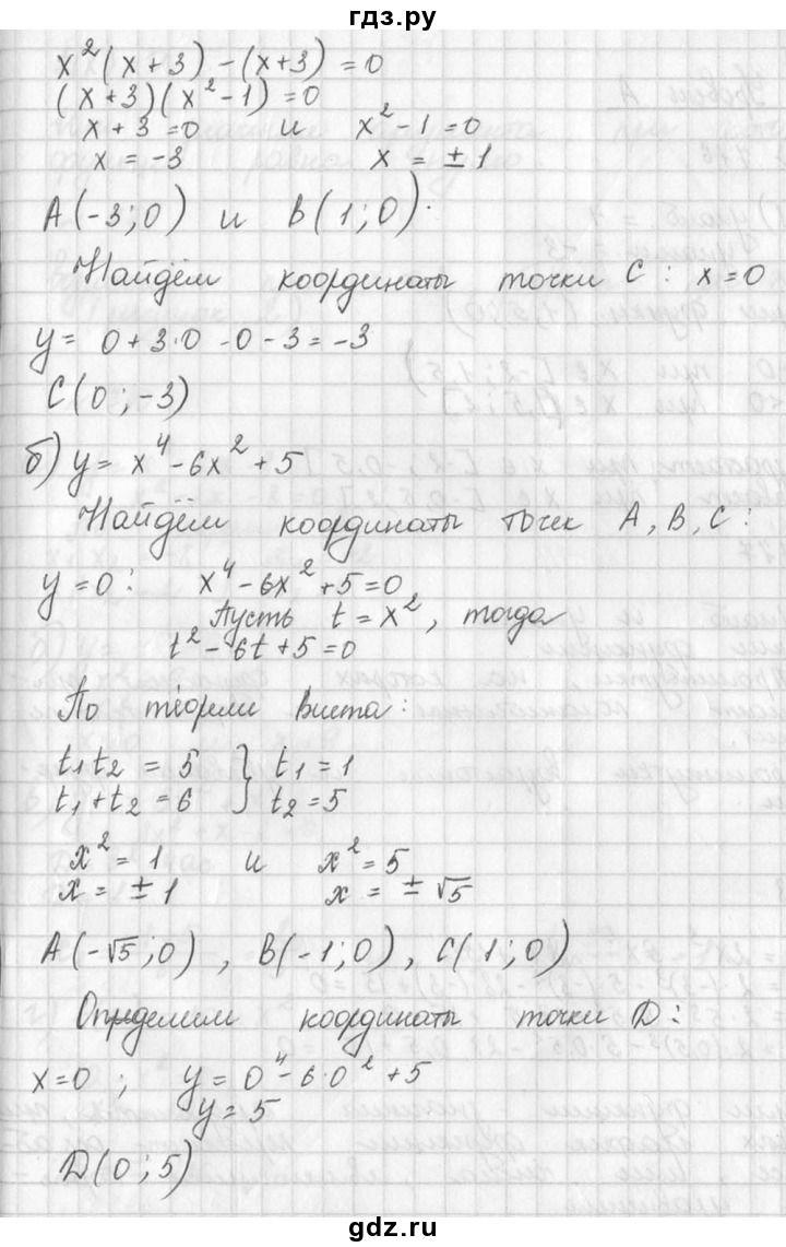 Гдз по алгебре класс г.в.дорофеев