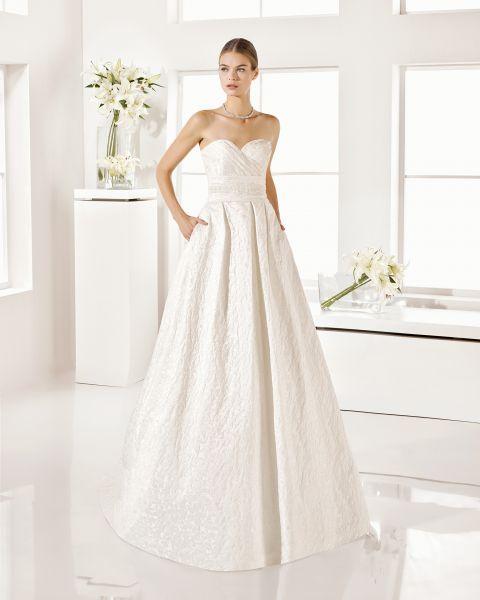 Vestidos de novia con bolsillos 2017 Los pequeños detalles marcan