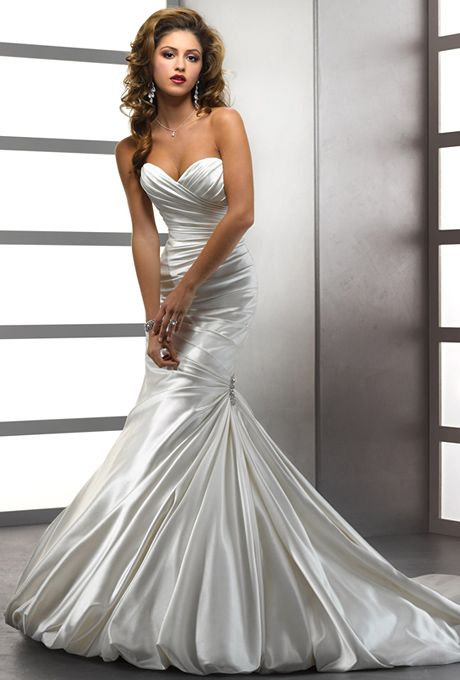 Brides Sottero Midgley Simple Elegance This Rich Soft Shimmer Satin In Relaxed