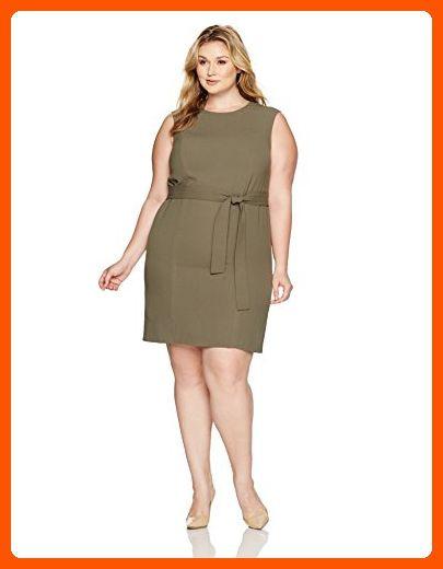 fe75414714dea Nine West Women s Plus Size Self Belt Dress