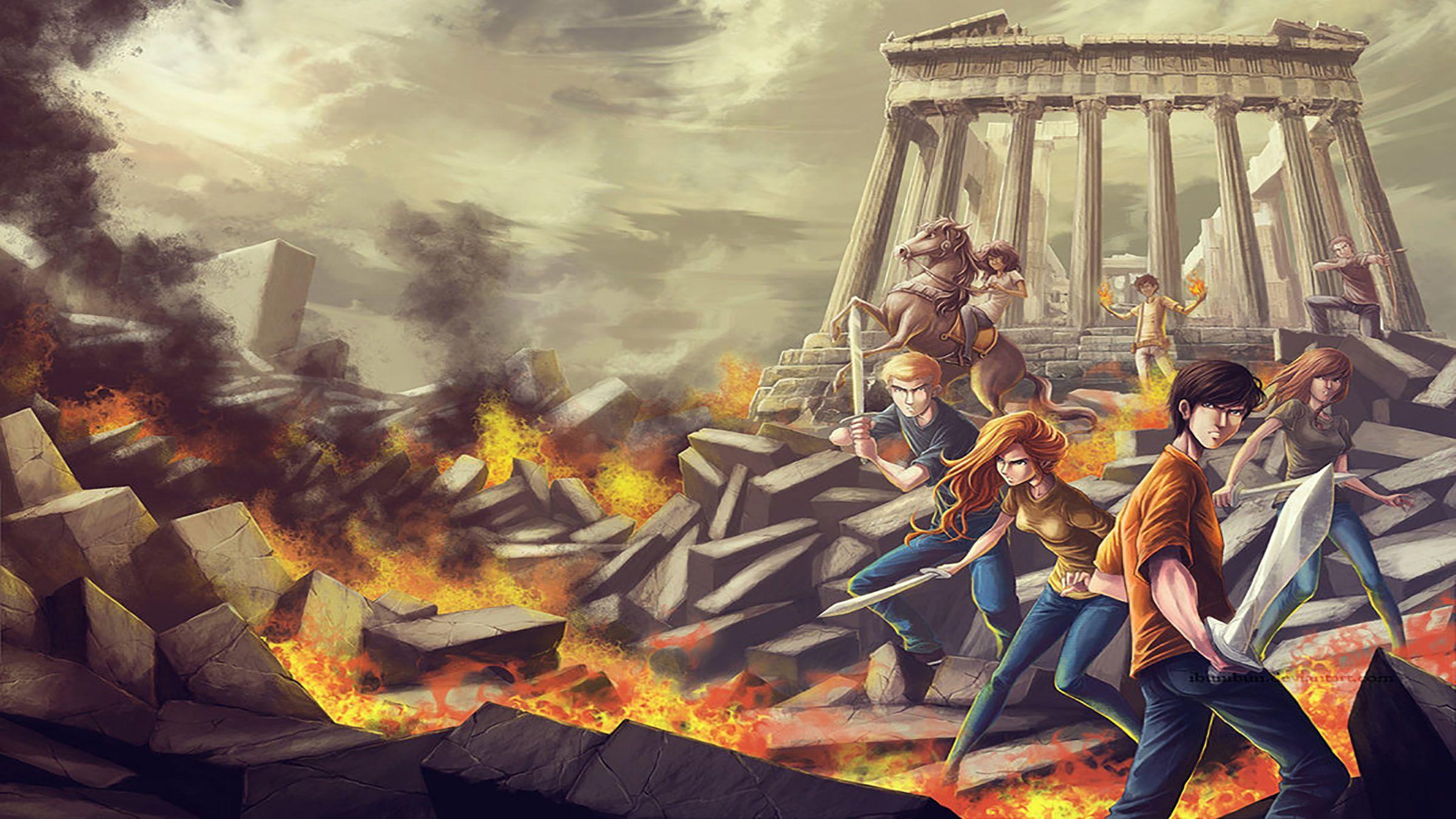 Percy Jackson Heroes Of Olympus Annabeth Chase 1080p Wallpaper Hdwallpaper Desktop Percy Jackson Wallpaper Heroes Of Olympus Percy Jackson
