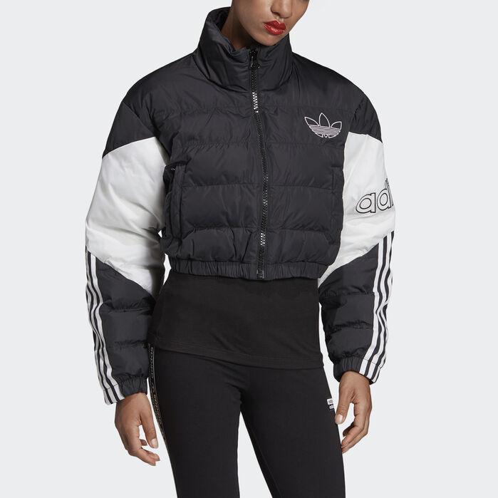 adidas Originals cropped puffer jacket