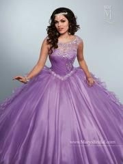 106bda8299f Radiate the room in a Mary s Bridal Beloving Collection Quinceanera Dress  Style 4653 at your Sweet 15 party or at any formal event.