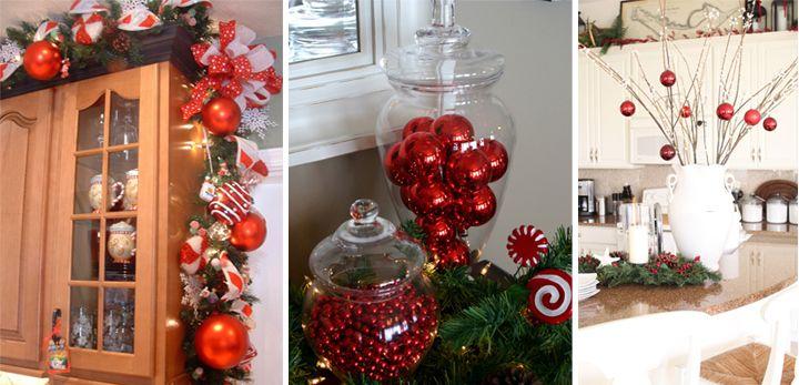 Ideas para decorar la cocina en Navidad | Navidad adornos ...