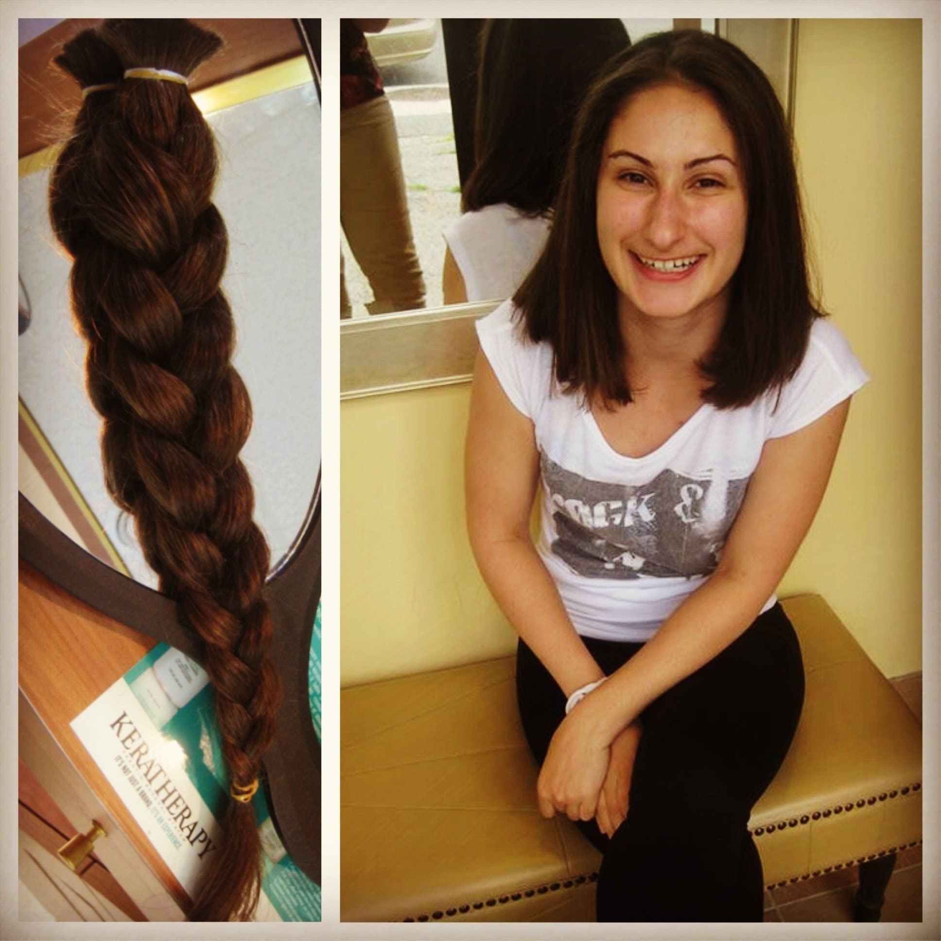 I Donated My Hair LazyLifeBlog Hair Donation For A Good Cause