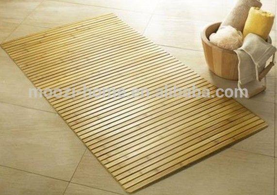 Spa Bathroom Decor, Thin Bathroom Rugs