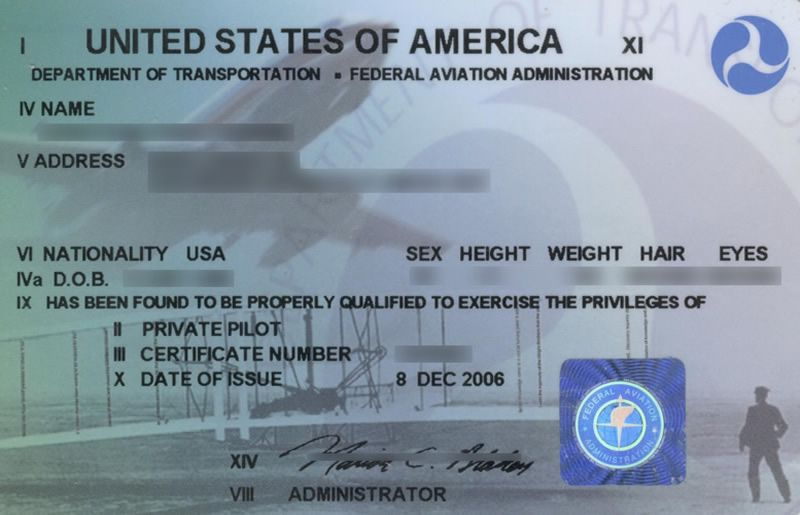 sample pilot licence Pilots License Requirements What