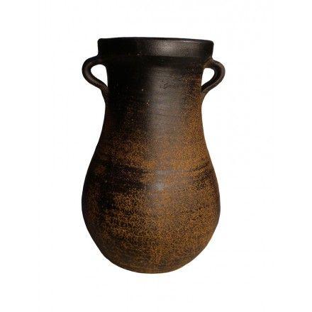 Parag ero artesano jarr n rustico pieza singular para ambientes c lidos y acogedores en la que - Jarrones rusticos ...