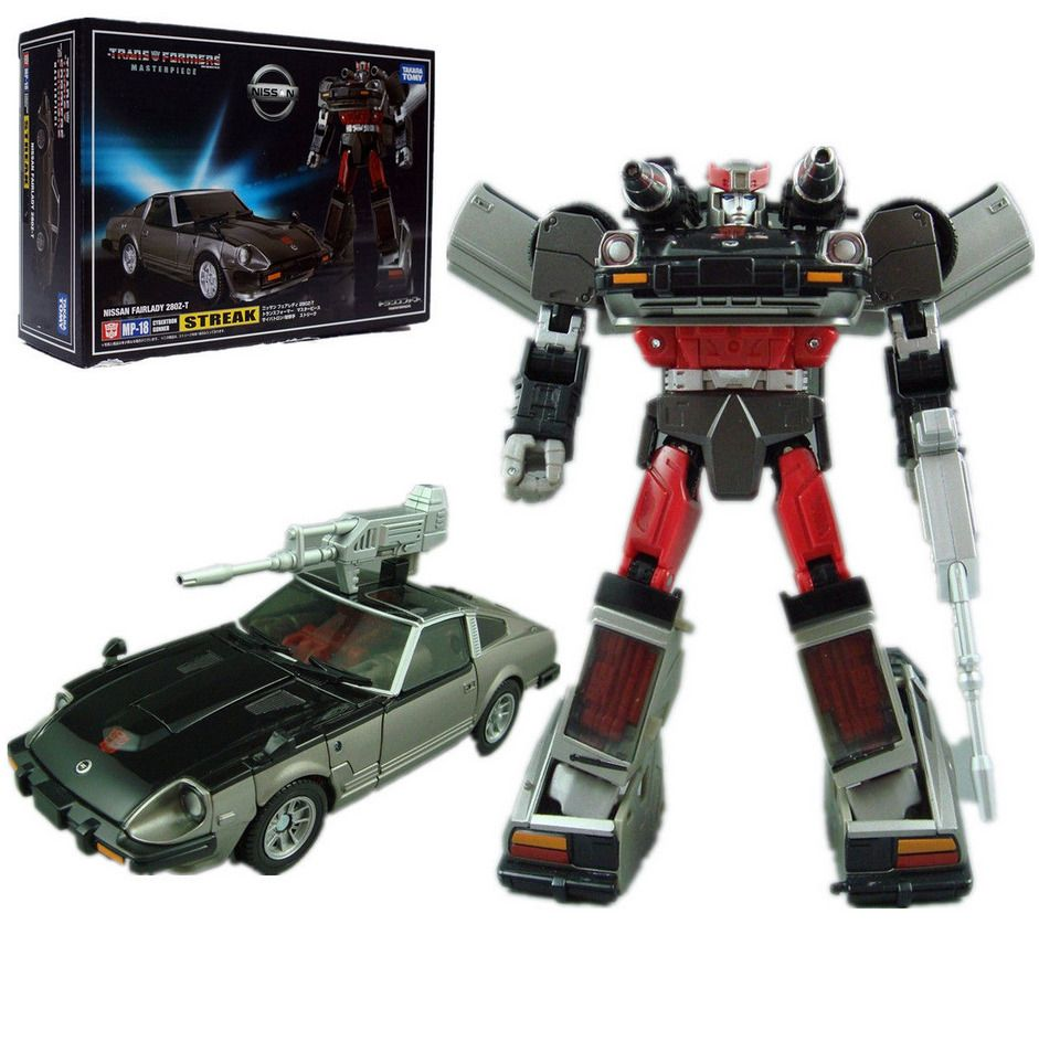 Transformers Masterpiece MP18 Blue Streak Nissan Fairlady Action Figures Car Toy