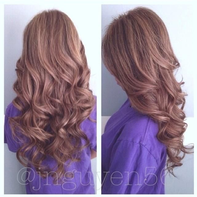 Highlights & Curls - Hairstyles and Beauty Tips