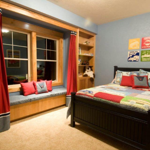 Boy's room Großejungsschlafzimmer, Kinderzimmer ideen