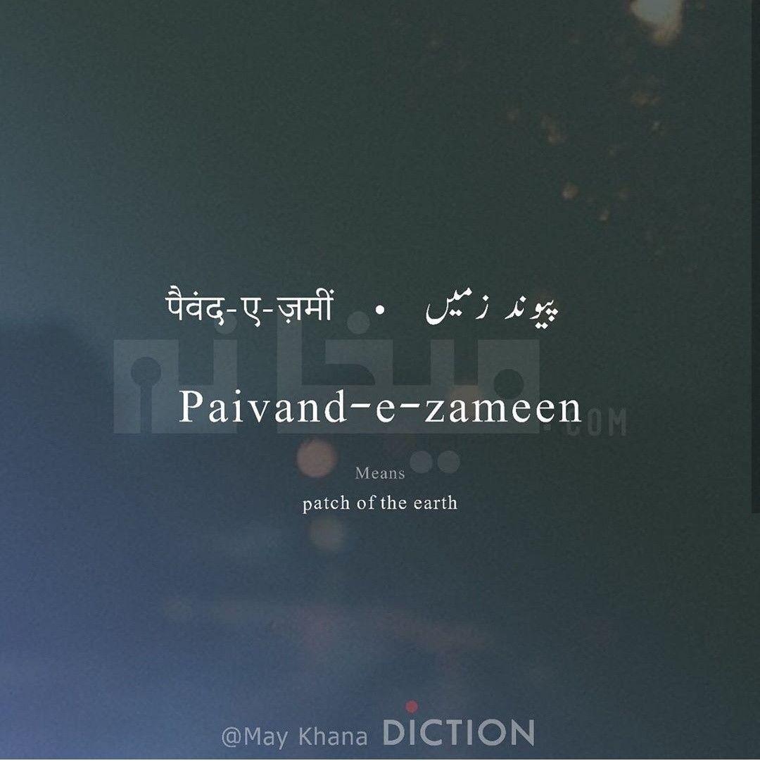 Patch meaning in urdu