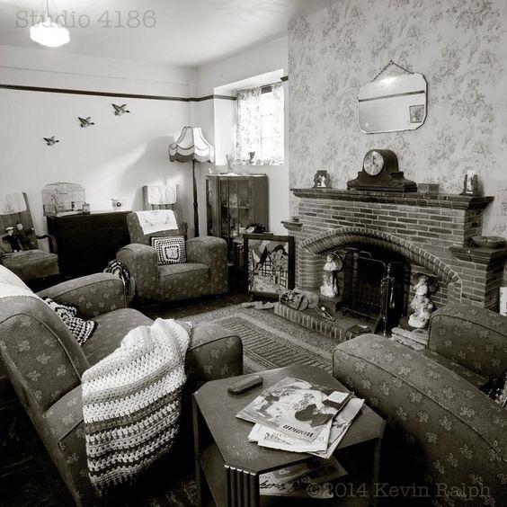 Late 1930s Living Room 1940s Home Decor Bohemian Living Room Decor Living Decor