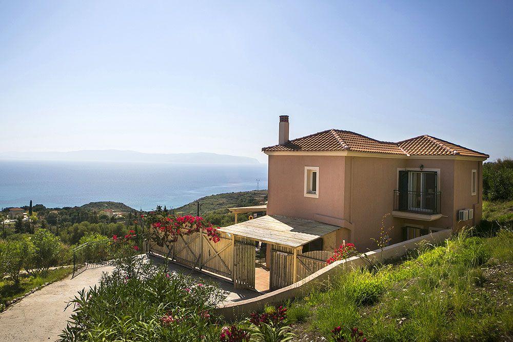 Arethusa Villa In Kefalonia Greece Sleeps 6 Ratzakli Skala Vintage Travel Villa Holiday Villa Kefalonia