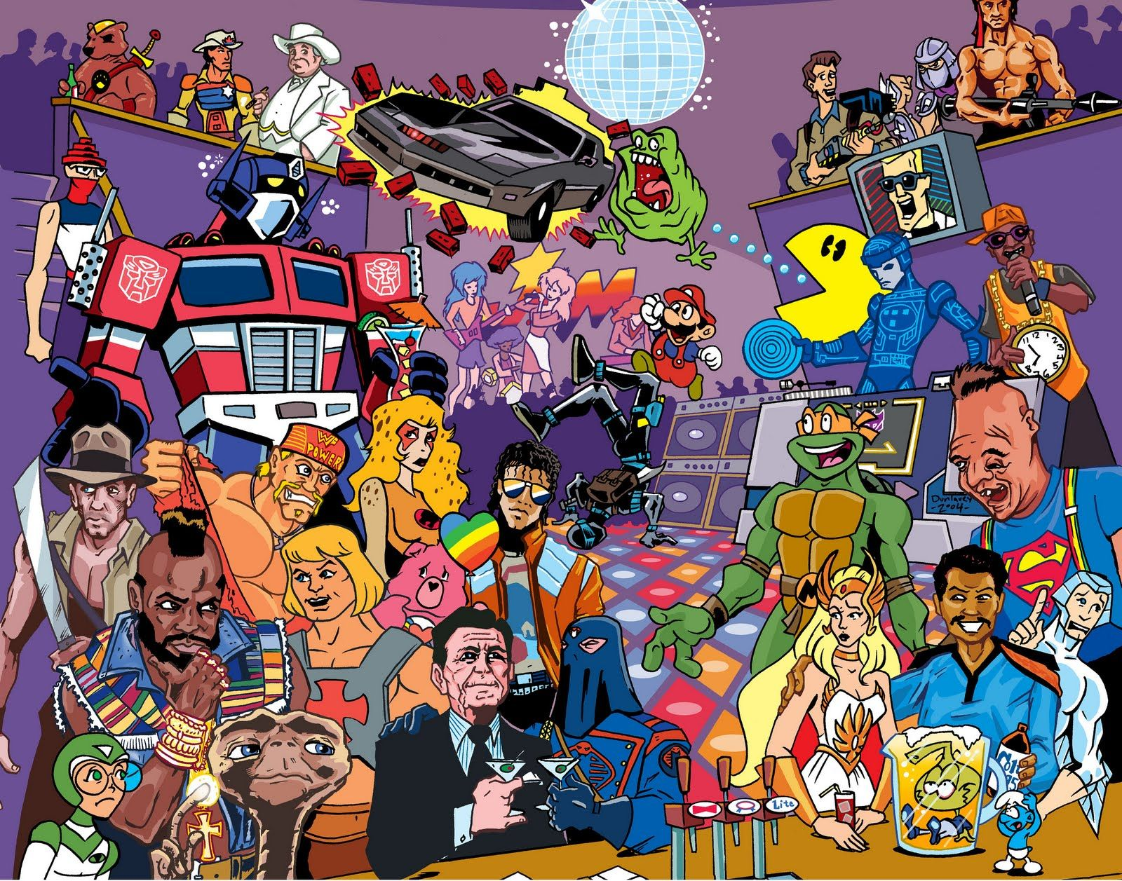 The Top 20 Pop Culture Icons of the '80s. Part 1 (110