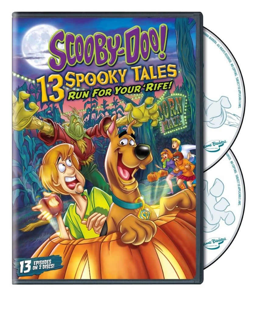 Scooby Doo 13 Spooky Tales Run for your 'Rife! Review