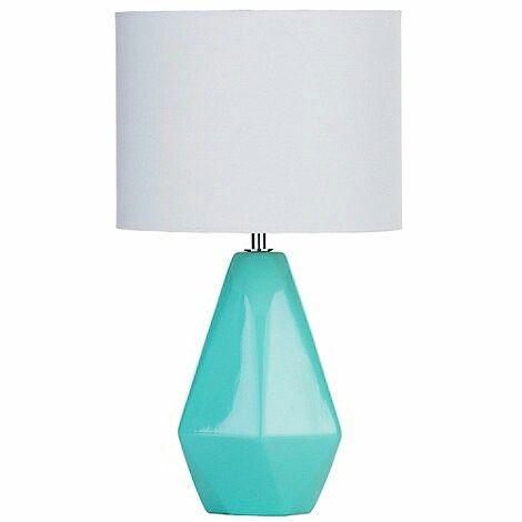 Debenhams turquoise geometric table lamp home pinterest debenhams turquoise geometric table lamp aloadofball Gallery