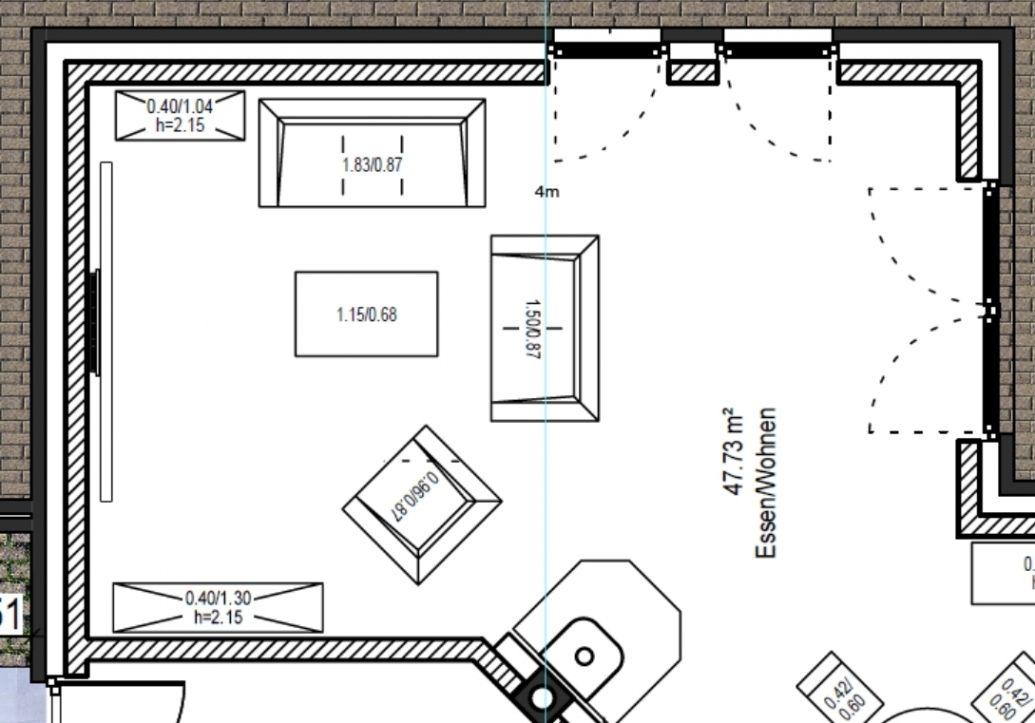 Wunderschöne Wohnzimmer Aufteilung Wohnzimmer ideen Pinterest - wohnzimmer ideen petrol