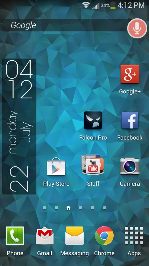 Nexus Triangles LWP v3.0.3 Requirements Android 2.2 and
