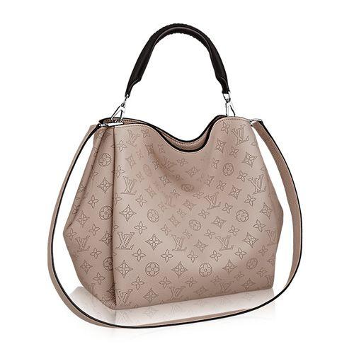 eb2eb0ef81 Louis Vuitton M50032 Mahina Babylone PM Galet | Louis Vuitton ...
