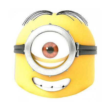 Máscara Stuart Gru Mi Villano Favorito Minions Minion Mask My Minion