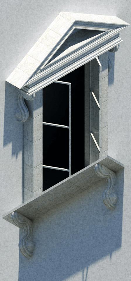 M. Escher, raam
