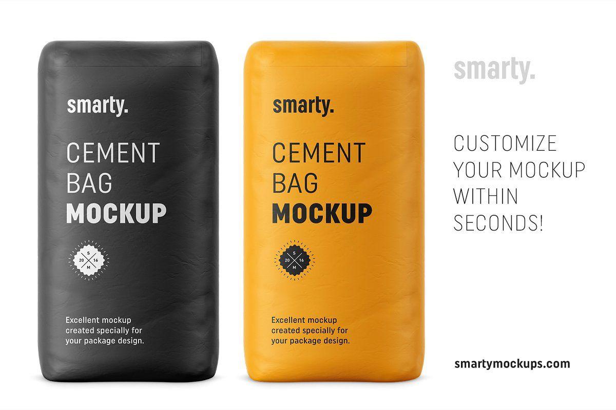 Download Cement Bag Mockup Bag Mockup Packaging Mockup Cement