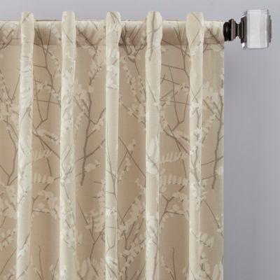 Catkin Rod Pocket Back Tab Window Curtain Panel In 2020 Panel