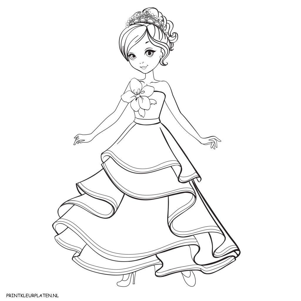Image Result For Prinses Kleurplaten Kleurplaten Prinses Stokken