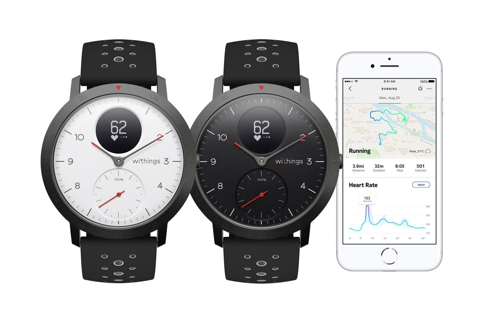 Withings Steel Hr Sport Rolls Out First Since The Reacquisition Smart Watch Gps Watch Fitness Watch