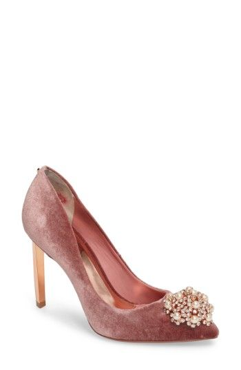 ec517081a9e Free shipping and returns on Ted Baker London  Peetch  Pointy Toe Pump ( Women) at Nordstrom.com. The dazzling