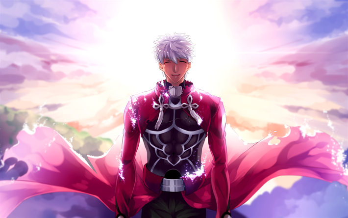 Download Wallpapers Archer 4k Manga Art Fate Stay Night Fate