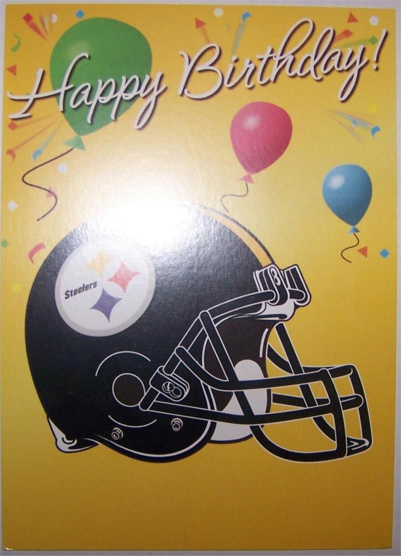 Pittsburgh Steelers Happy Birthday Graphics