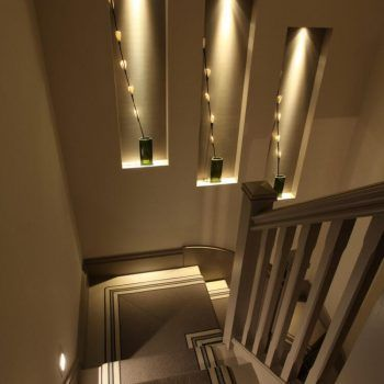 Inspiring staircase lighting ideas | Staircase wall ...
