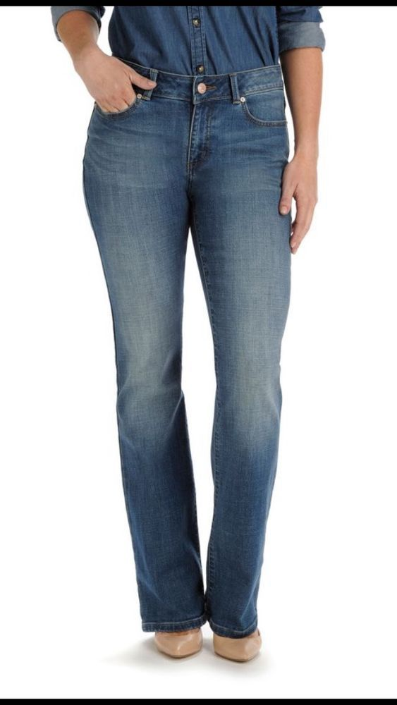 ec9b83d67e8 Lee Houston Boot Cut Curvy Fit Women's Stretch Jeans Size 10S X 30 NWT #Lee  #StraightLeg