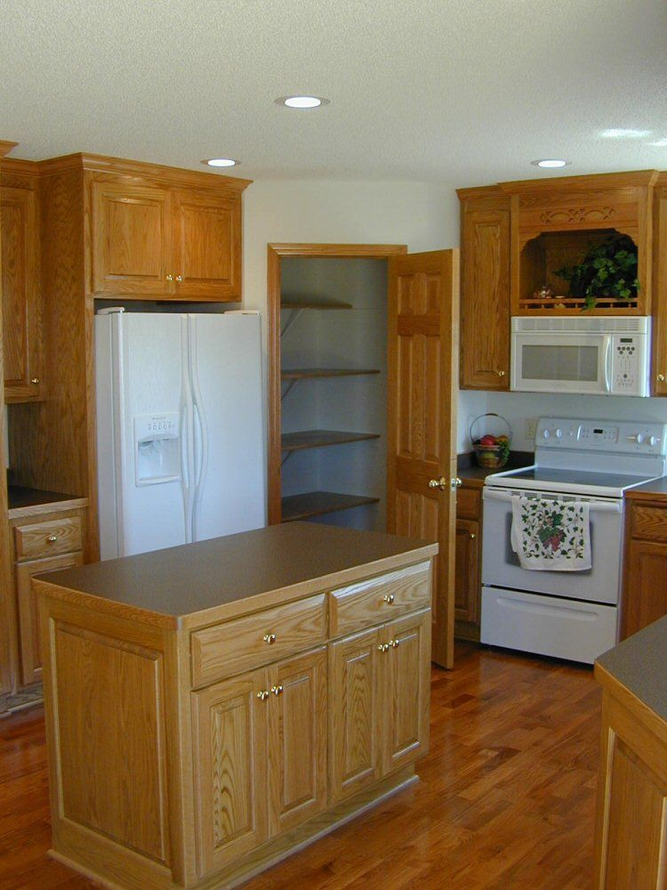 Walk In Corner Pantry Cabinet Open Kitchen With 42 Upper Cabinets